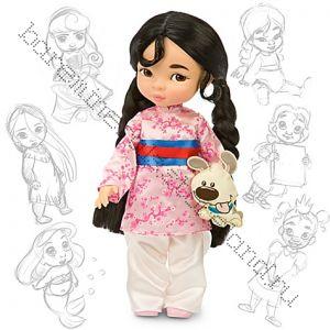 Кукла Мулан в детстве с игрушкой Дисней