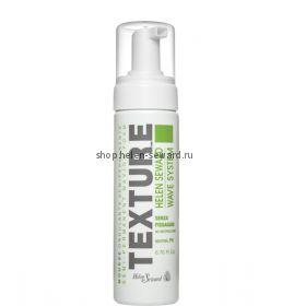 TEXTUR_E Полуперманентный кератиновый мусс для завивки волос