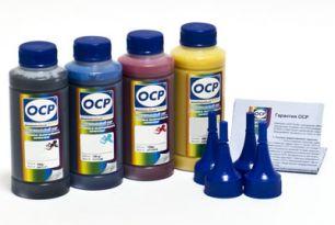 Чернила OCP для принтера Epson XP-103, XP-207, XP-303, XP-313 (BKP 115, C 140 - светостойкий, M 140, Y 140), картриджи T1701-T1704, комплект 100 гр. x 4