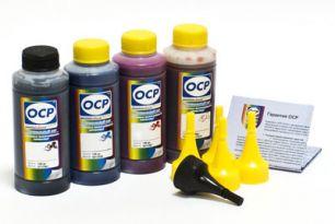 Чернила OCP для принтера HP Deskjet Ink Advantage 3525, 4515, 4615, 4625, 5525, 6525 (BK35, C343, M343, Y343) Safe Set, комплект 100 гр. x 4