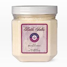 Соль для ванн с микрогидрином   Bath Salts with Microhydrin