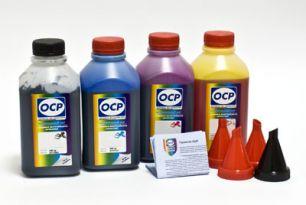 Чернила OCP для принтера и МФУ Canon iP2700, MP230, MP250, MP280 (BK35, C712, M712, Y712) Safe Set, комплект 500 гр. x 4