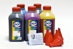 Чернила OCP для принтера и МФУ Canon iP7240, MG5440, MG5540, MG5640, MG6440, MG6640, MX924, iX6840 (BKP235, BK135, C712, M135, Y135), картриджи PGI-450, CLI-451, комплект 500 гр. x 5