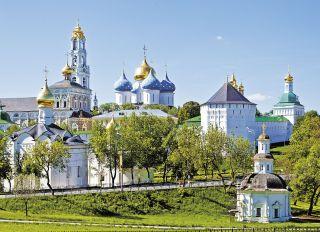Postcard Trinity-Sergius Lavra. UNESCO