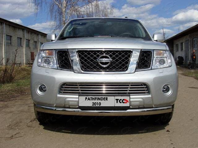 Брызговики передние Novline-Autofamily Nissan Pathfinder 2010-2014 - фото 8