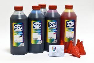 Чернила OCP для принтера и МФУ Canon MG5740, MG6840, TS5040, TS6040 (BKP44, BK153, C153, M153, Y153), картриджи PGI-470, CLI-471, комплект 1000 гр. x 5