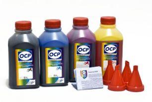Чернила OCP для принтера и МФУ Canon MB5040, MB5140, MB5340, MB5440, iB4040, iB4140 (BKP230, CP230, MP230, YP230), картриджи PGI-2400, комплект 500гр. x 4