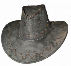 Шляпа ковбойская под замшу