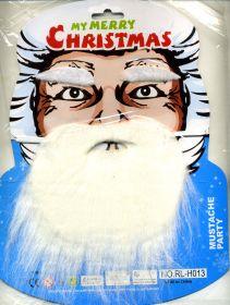 """Набор """"Рождество"""". Усы, борода, брови."""