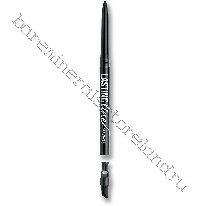 Lasting Line Long-Wearing Eyeliner - черный. Уценка (без коробки)