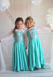 Платье Эльзы из Холодное сердце размер 130 П01
