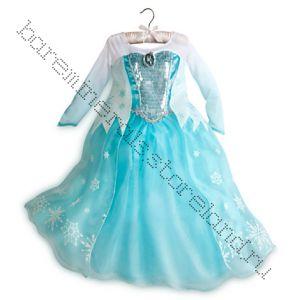 Elsa Deluxe Costume Костюм Эльзы ЛЮКС - Frozen, 9/10 лет, 140 см