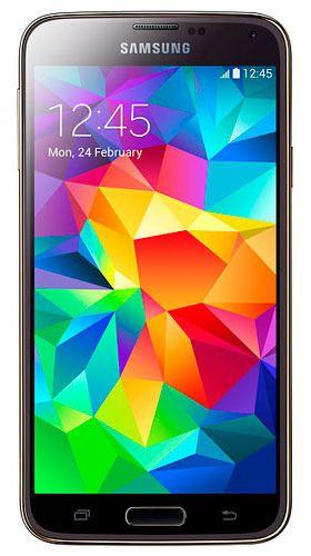 SAMSUNG Galaxy S5 SM-G900FD Duos LTE Gold