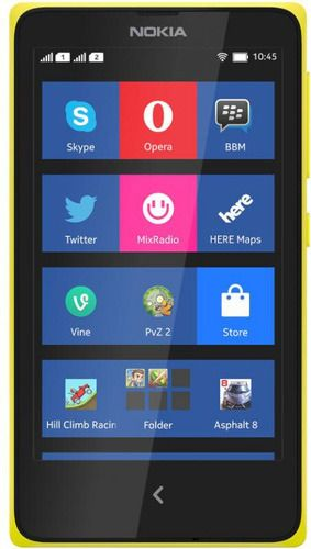 NOKIA XL Dual Sim Yellow