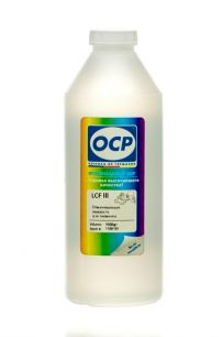 Сервисная жидкость OCP LCF III (Lexmark cleaning fluid), жидкость для отмачивания пигментных чернил, 1000 гр.
