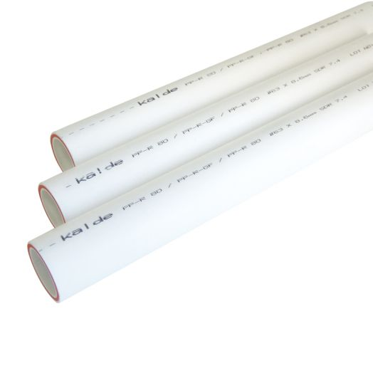 Труба ПП PN 25 25мм KALDE армированная стекловолокном