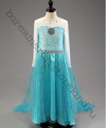 Платье  Эльзы  Холодное сердце 110, 120, 130, 140, 150 см