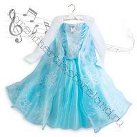 Музыкальное платье Эльзы - новогоднее