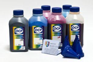 Чернила OCP для принтера Epson L800, L810, L850, L1800 (BK 155, C 155, M 155, Y 155, CL 156, ML 156), комплект 500 гр. x 6