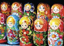 Postcard Matryoshka
