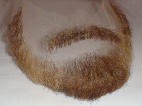 Борода полная с усами под заказ